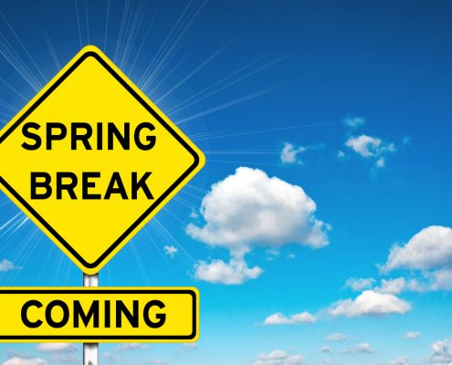 Ready Or Not, It's Almost Spring Break!